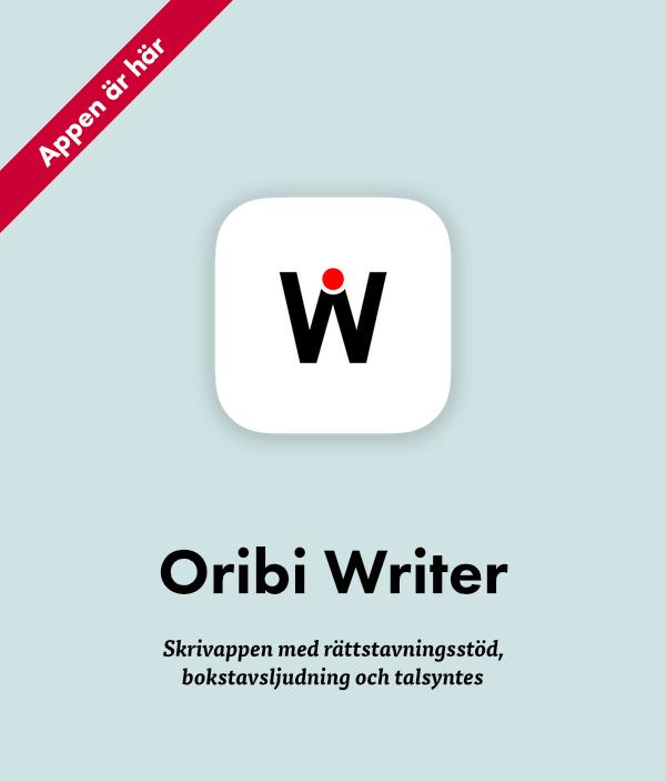 Oribi Writer hjälper dig att stava rätt på iPad