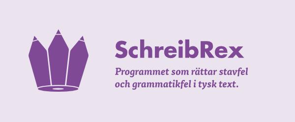 SchreibRex hjälper dig att stava rätt på tyska