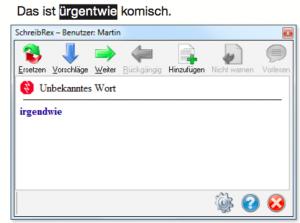 SchreibRex-notinwordlist