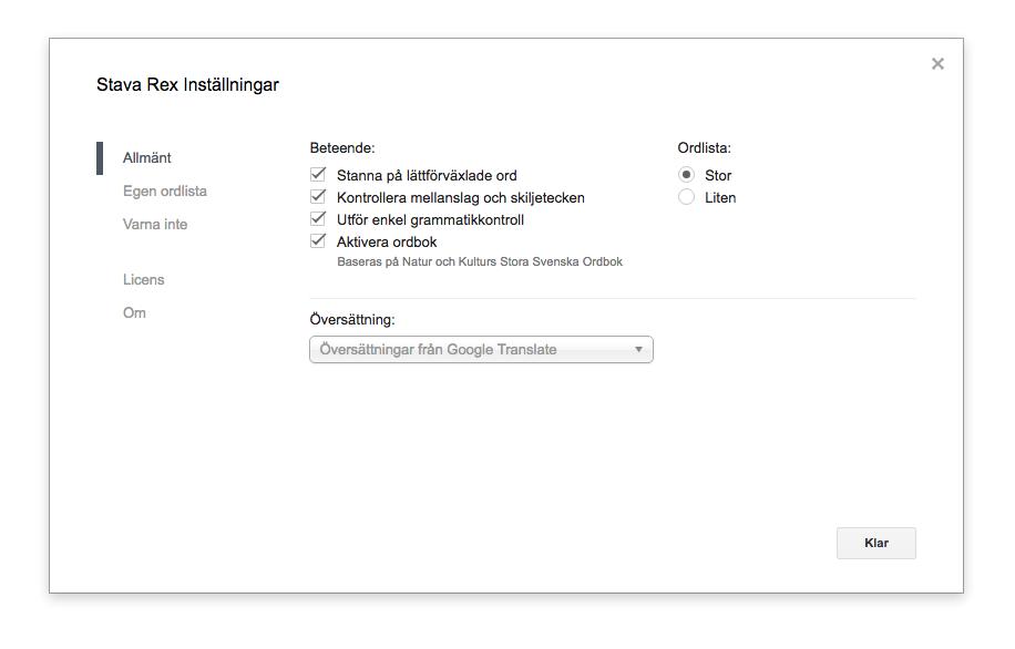 stavarex-docs-settings